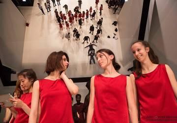 Kostýmová skúška na premiéru BESS. Foto: Peter Brenkus