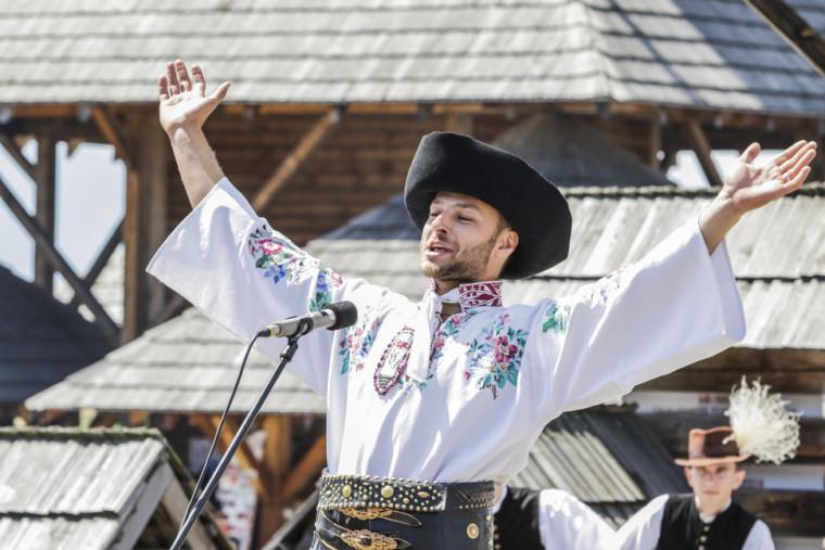 Trojnásobný laureát Šaffovej ostrohy Jakub Filipko počas programu s názvom Z najlepších. (Zdroj: TASR)