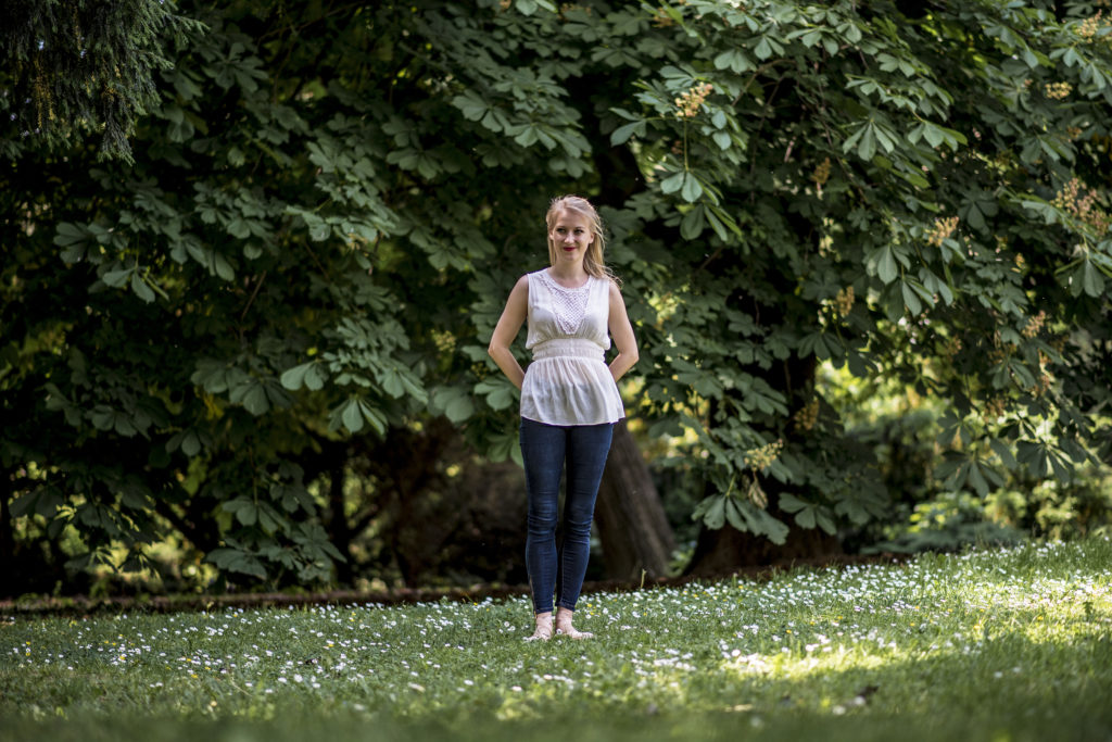 Leni Ziener: Rada oddychuje v Medickej záhrade