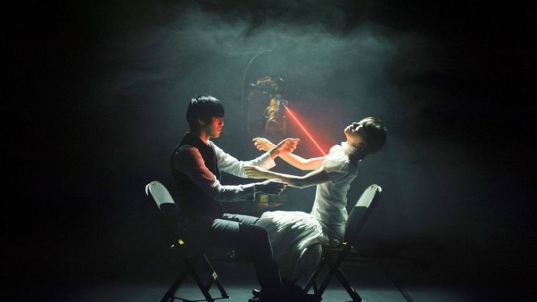 Tanečník Huang Yi a jeho robotický spoločník Kuka. Autor: Bratislava v pohybe