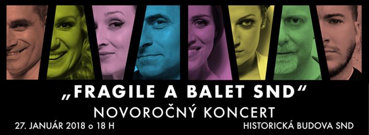 Fragile & Balet Novoročný koncert