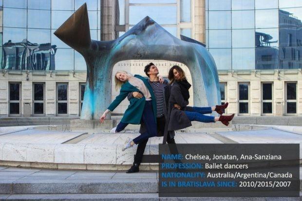 Humans Of Bratislava - Ana, Jonatan a Chelsea