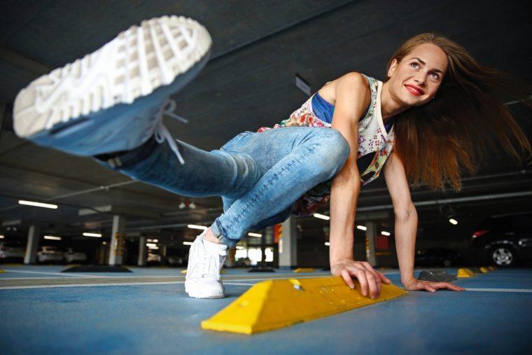 Zuzana Hanusová B-girl