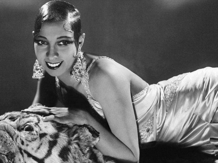 Josephine Baker Čierna Perla