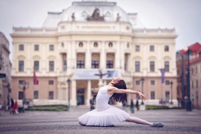 Klaudia Gorozdoš balet SND
